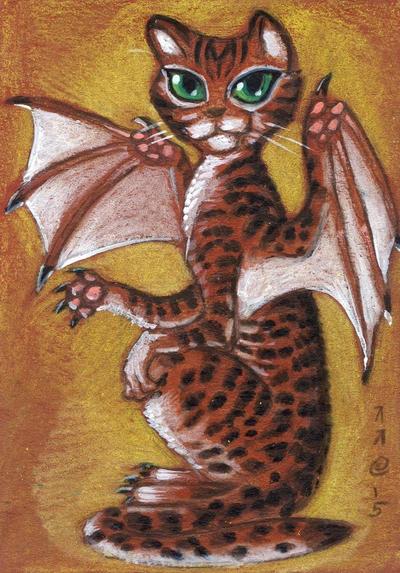 Tabby Batcat by LEXLOTHOR