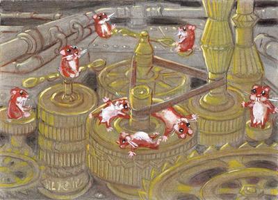 Steampunk Hamsters VIII by LEXLOTHOR