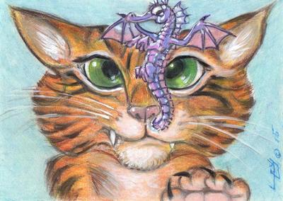 Curious Kitty by LEXLOTHOR