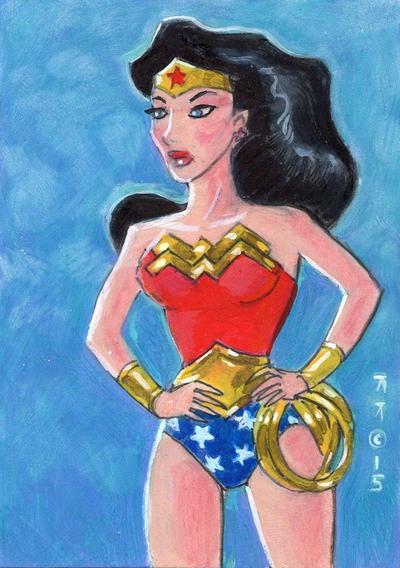Traditional Wonder Woman by LEXLOTHOR