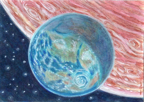 terrestrial planets have moons - photo #26