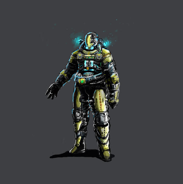Space Suit Concept by madvybez on DeviantArt