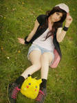 Cosplay Pokemon Black and white Hilda Touko by Sarah-D-Cosplay31