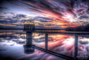 Blue Rock Dam by Grayda