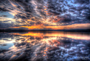 Dam Sunset by Grayda