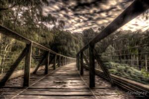 The Noojee Trestle Bridge by Grayda