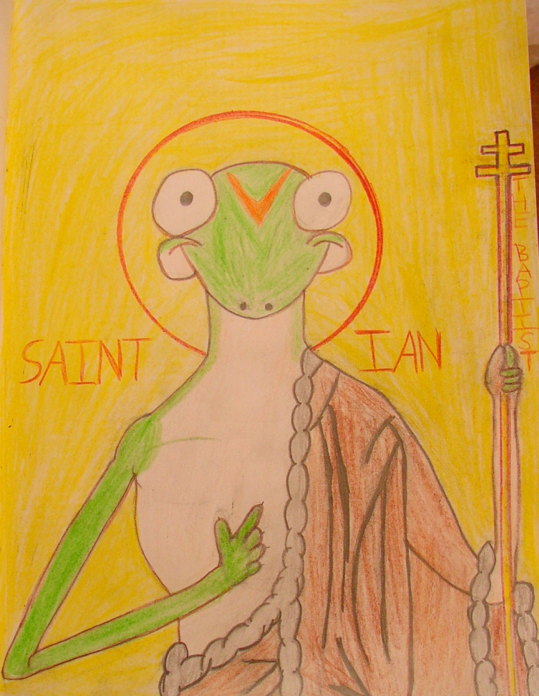 Saint Ian the Gecko by IanM