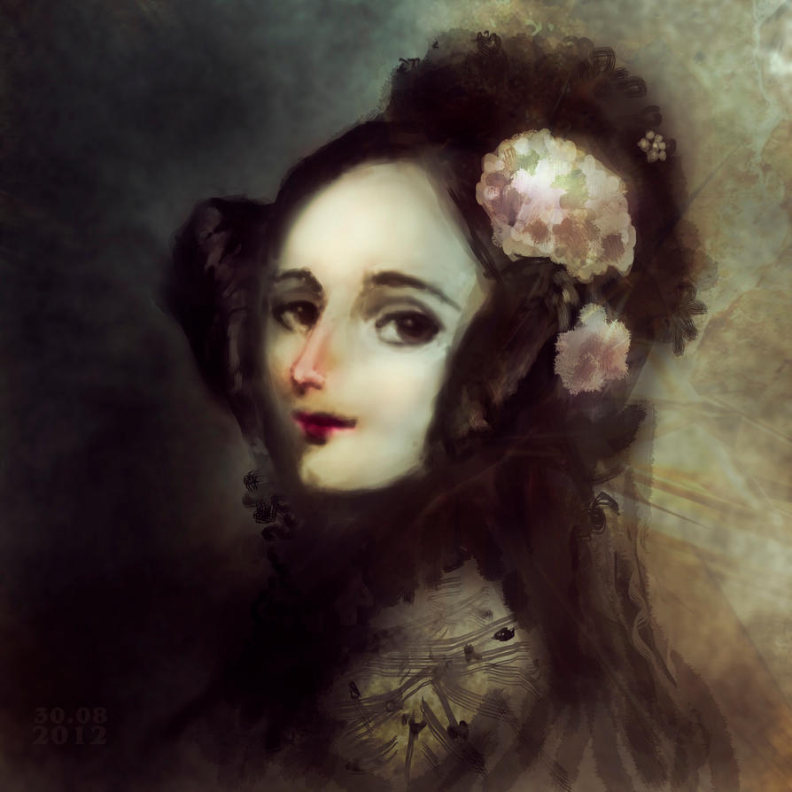 ada augusta lovelace Portrait of ada lovelace at age 20 (from the new york public library) ada lovelace was born 200 years ago this month to some she is a great hero in the history of computing to others an .