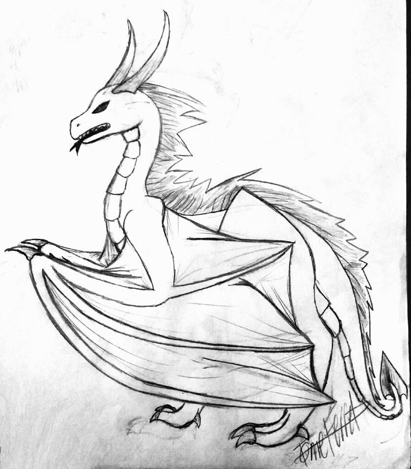 Random Dragon by SageSorcerer