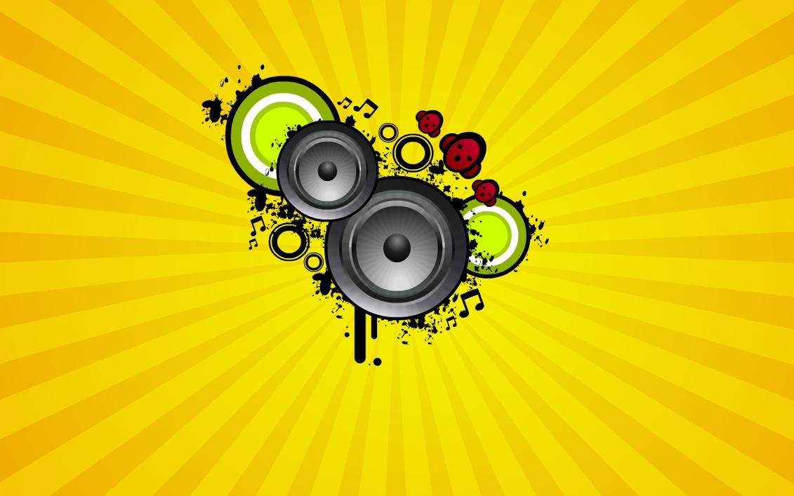 Music Vector Wallpaper By Solonir