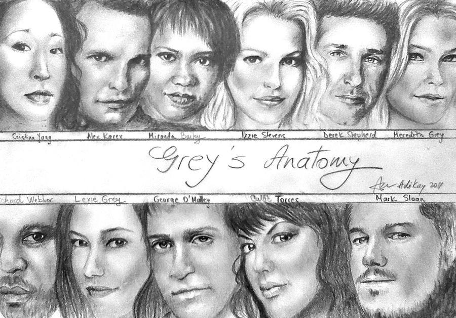 Grey\'s Anatomy by ADIKAY on DeviantArt