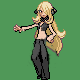 Cynthia sprite by Outofpower007