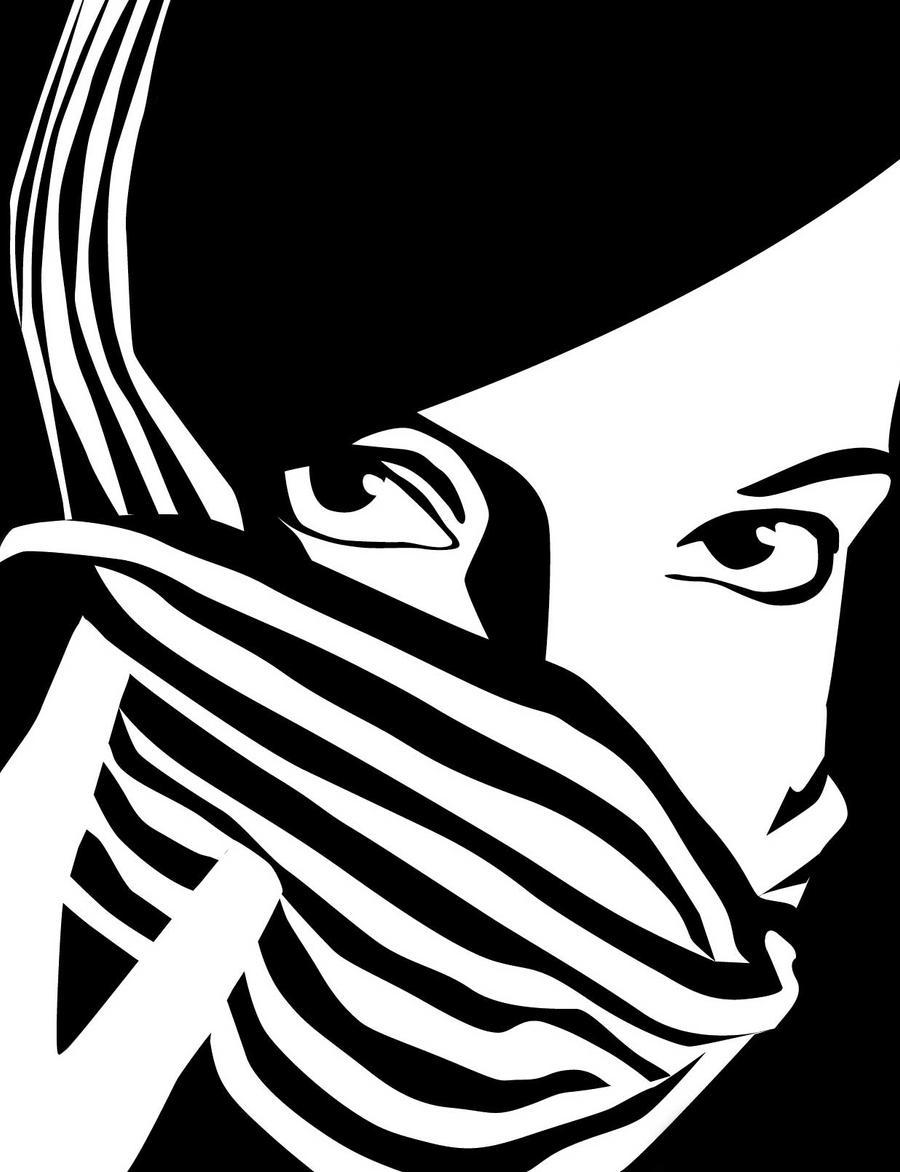 Ciudad vector blanco y negro imagui - Blanco y negro paint ...