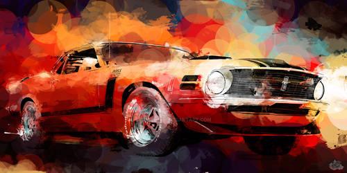 70 Mustang