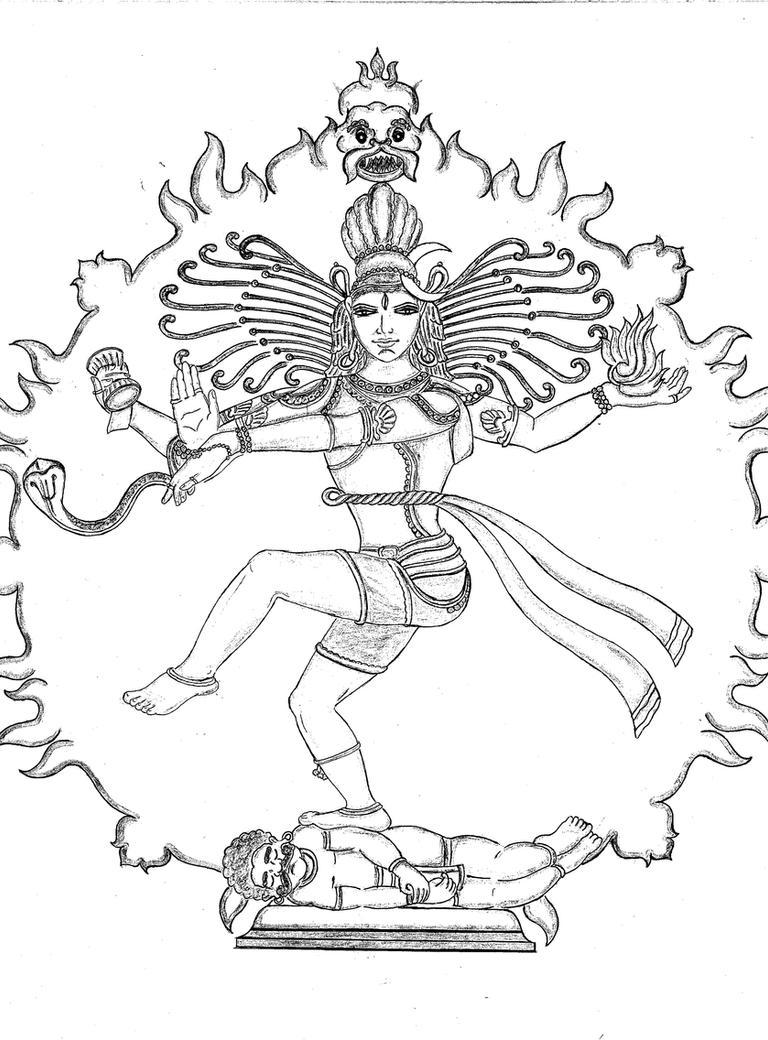 Shiva as Nataraja by bharath22884 on DeviantArt