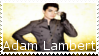 Adam Lambert Stamp by ohmistermalfoyoh