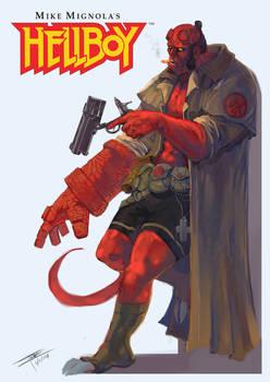 Fan Cover: Hellboy and Samaritan