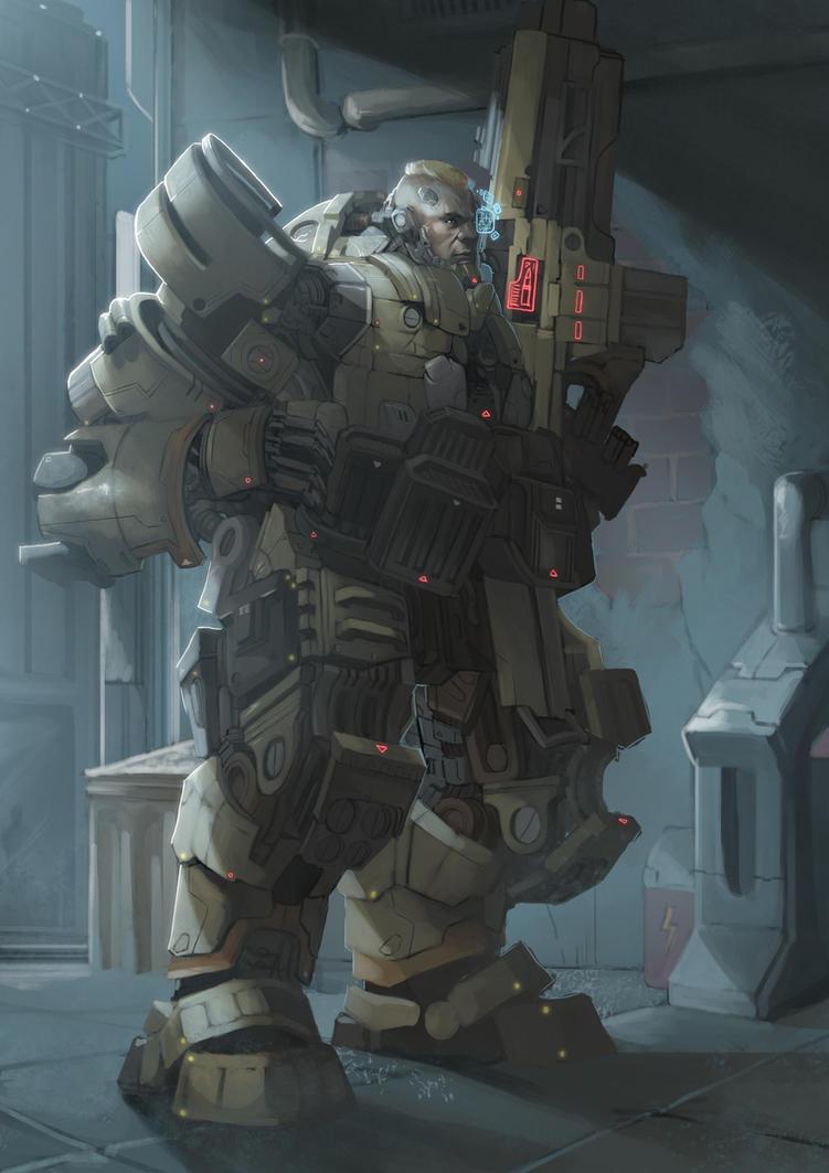 XCOM Mech General by FrostLlamzon