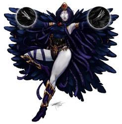 DnD Comic Books Raven