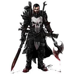 DnD Comic Books Punisher
