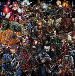 DnD X Comic Books: The Collection So Far