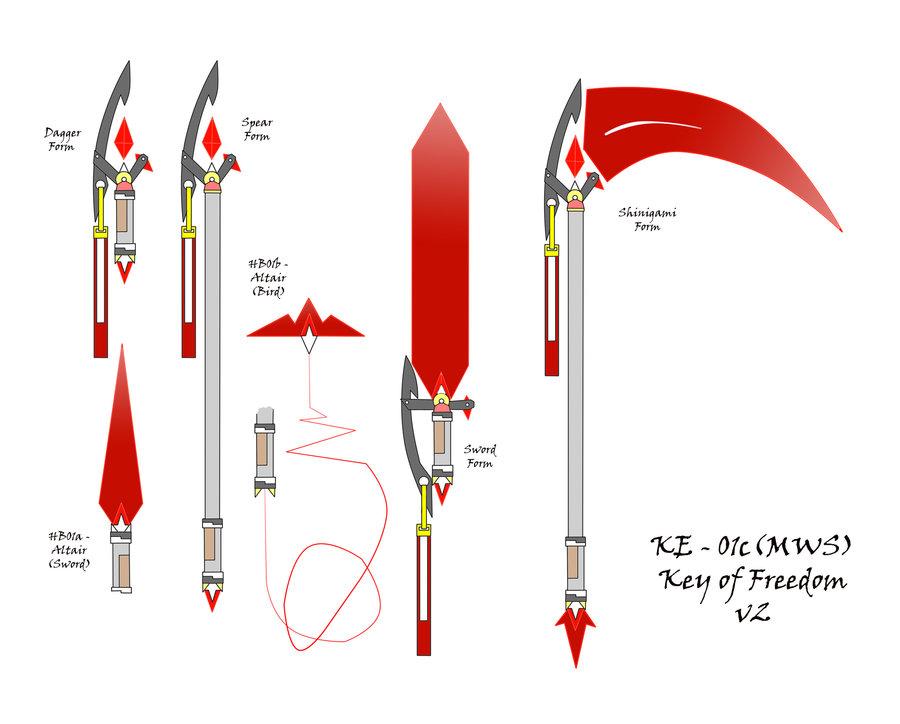 KE-01c-MWS- Key of Freedom v2 by Clysart