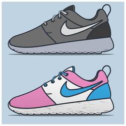 Nike shoes by eatcrap