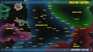Star Trek Star Chart