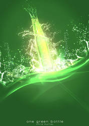 One Green Bottle II by Hayter