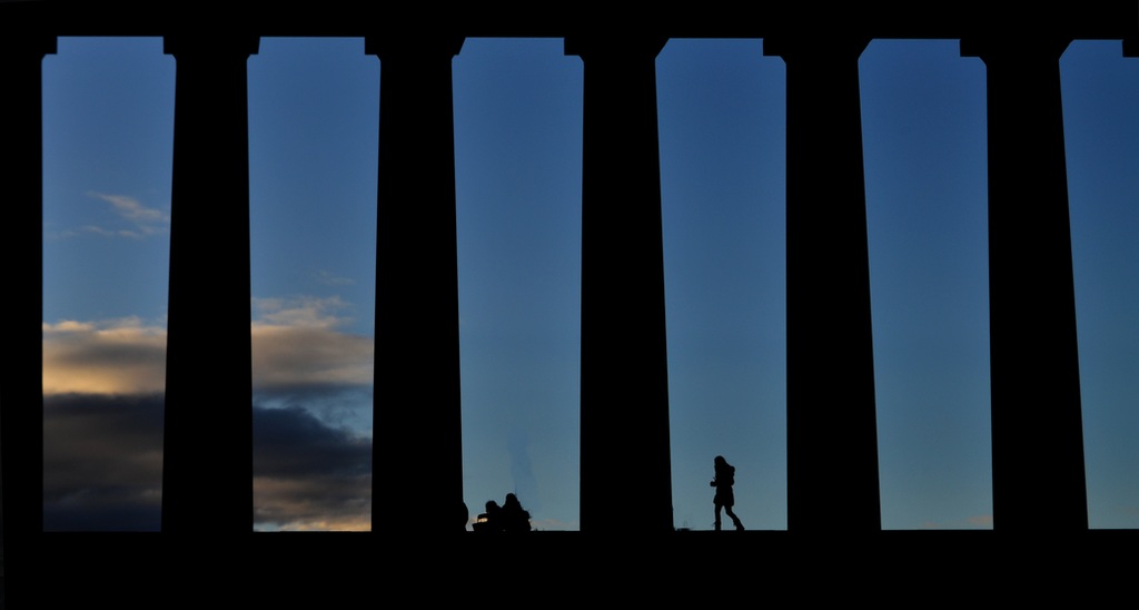 Calton in Silhouette by Hayter