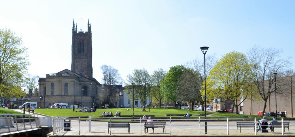 Derby Cathedral Park by Hayter