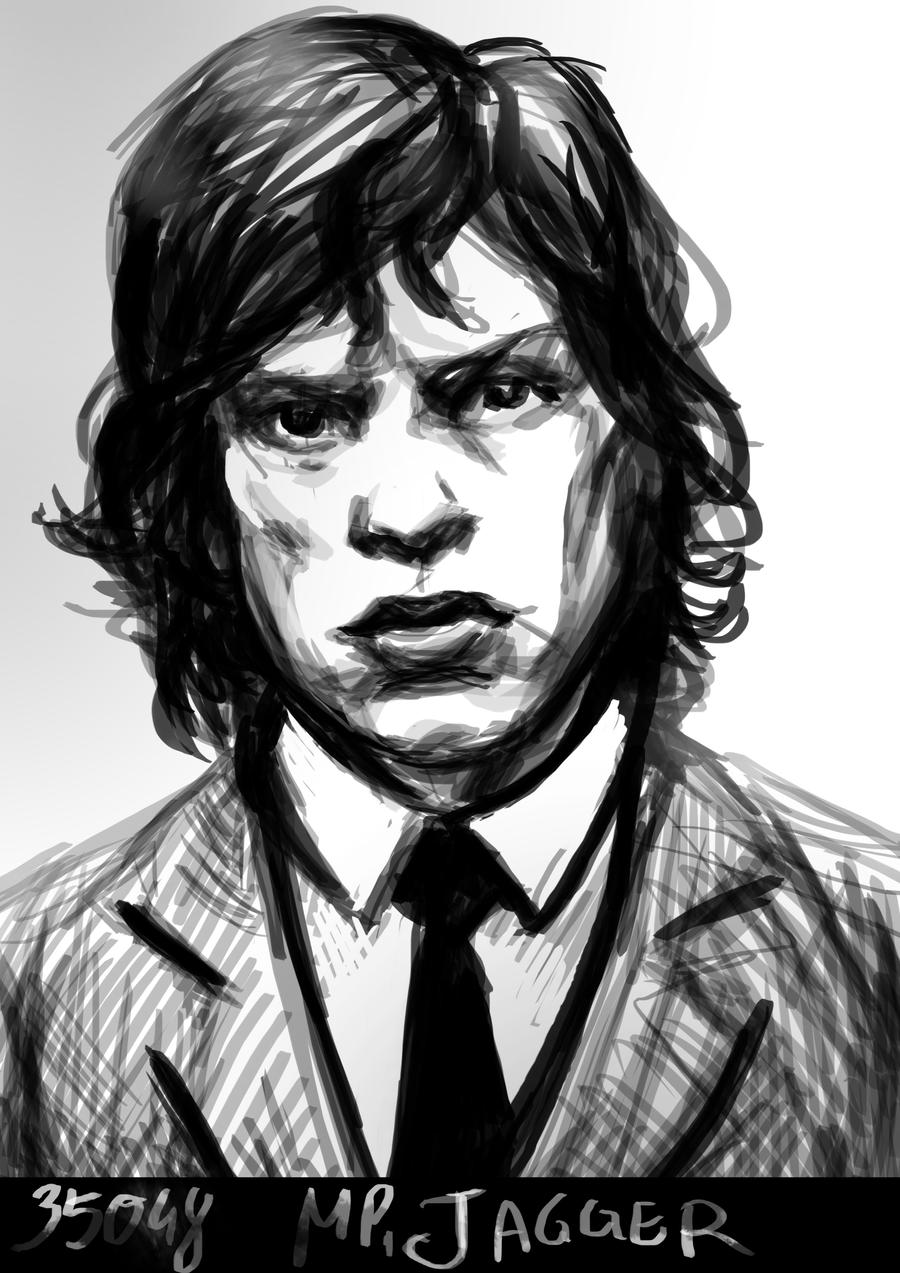 Jagger's mug shot by Mental-Lighton