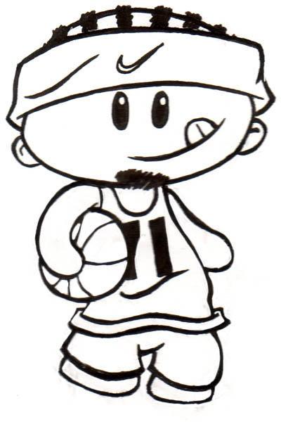 Basketball Dude By Podgypanda On DeviantArt