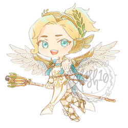 Winged Victory by ch1sh10