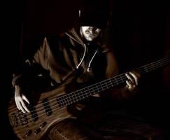 Bass player by tiberiua15