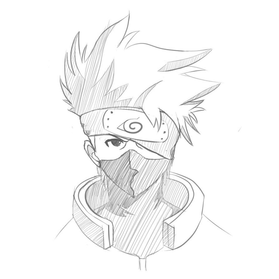 kakashi sketches - 894×894