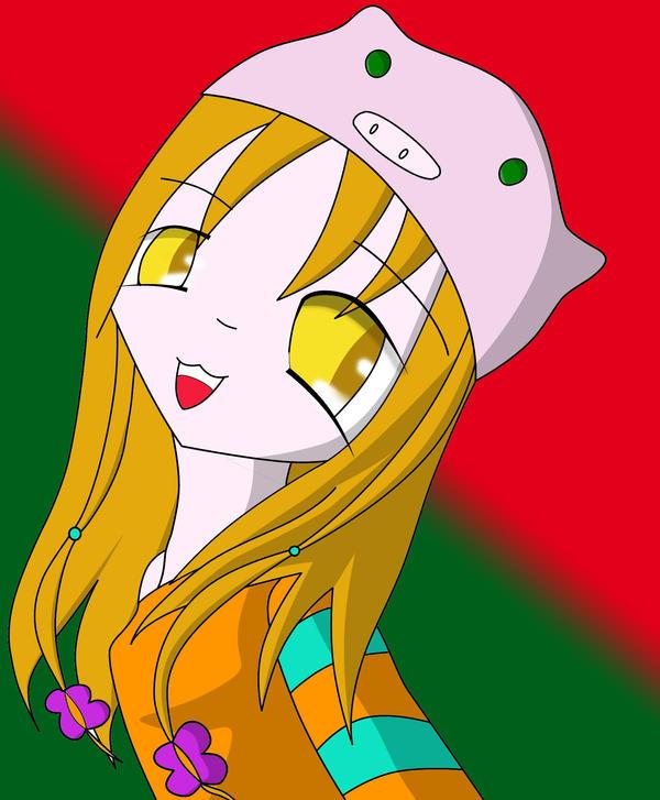 Oink hat by sora1589