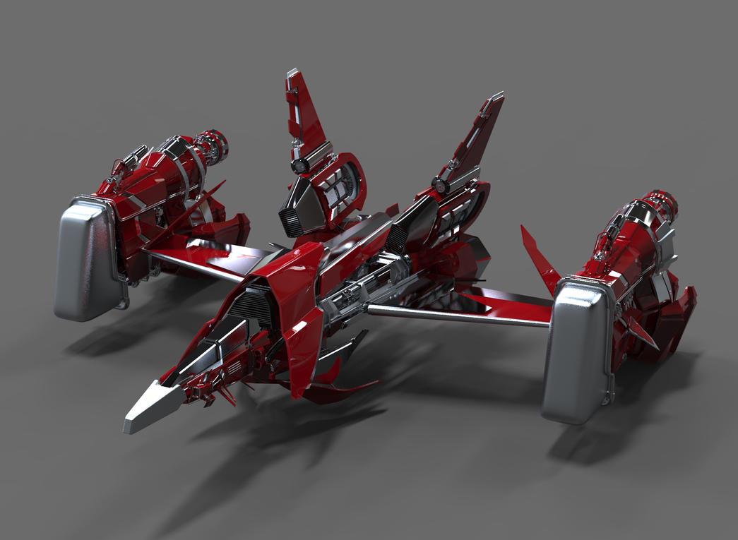 Concept plane by ametuerdraw