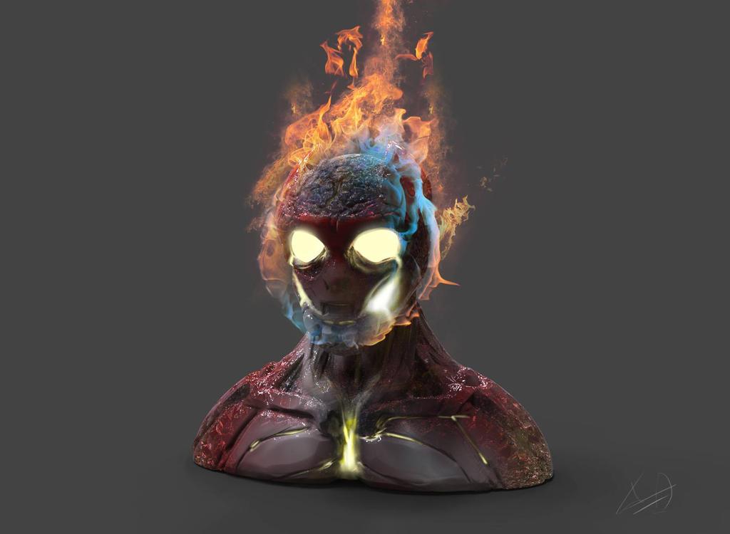Heat blast speed sculpt by ametuerdraw