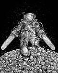Texas Chainsaw Astronaut NM