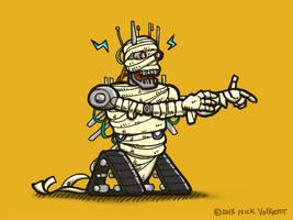 Mummybot by nickv47