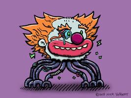 Severed ClownHead Robot by nickv47