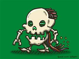 Skullbot by nickv47