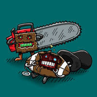 Go Chainsaws! by nickv47