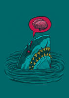 The Zombie Shark by nickv47