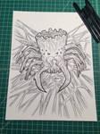 Inktober 29: The Spider Log