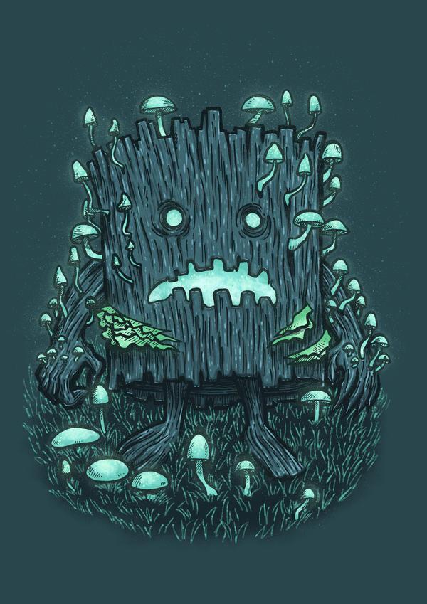 The Fungus Log by nickv47