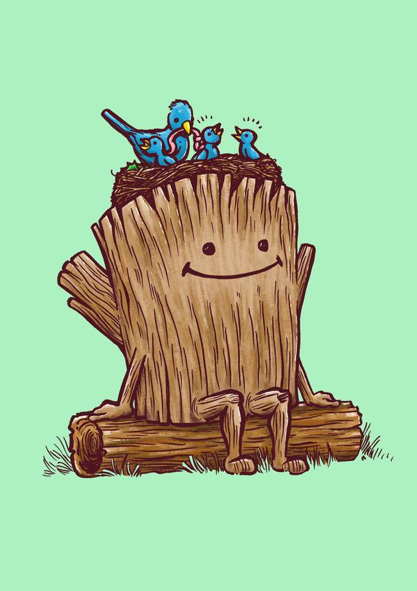 The Good Day Log's Bird Nest by nickv47