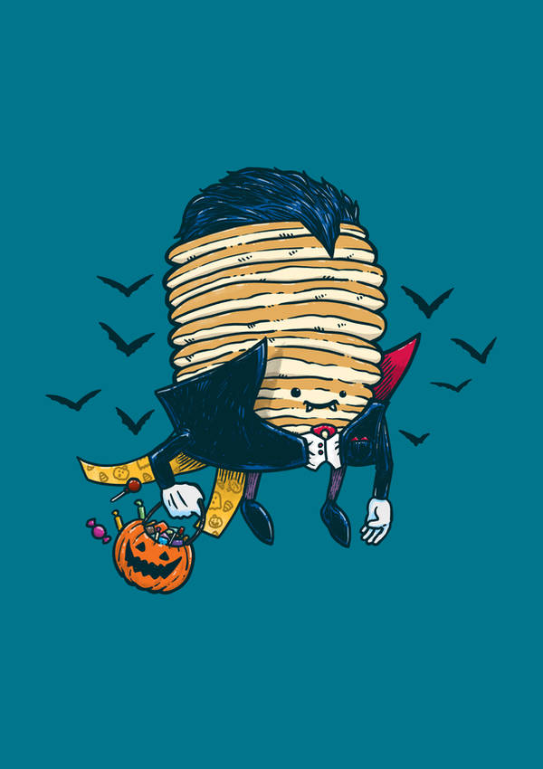 Spooky Pancake by nickv47