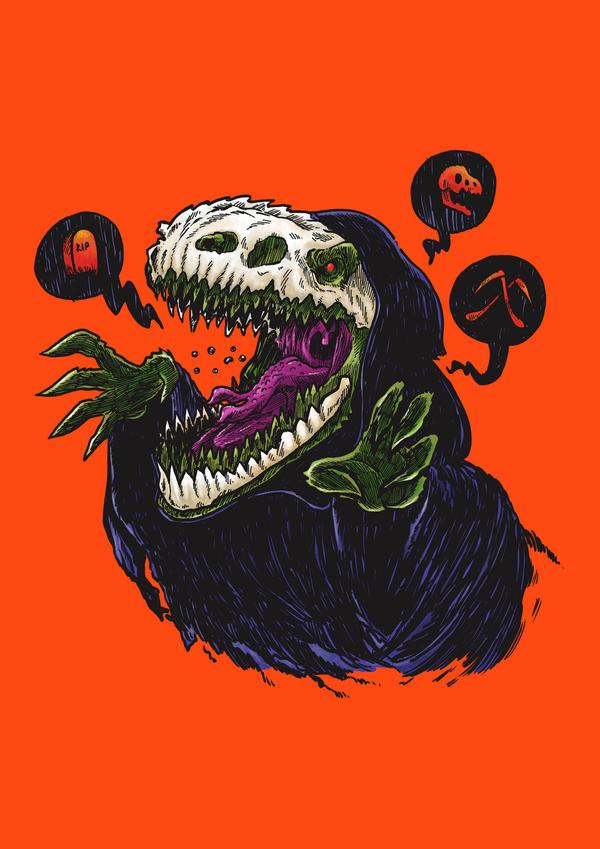 Grim Reapersaur by nickv47